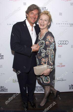Stock Image of Nigel Havers and Christine Kavanagh
