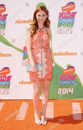 Editorial image of Nickelodeon Kids' Choice Sports Awards, Los Angeles, America - 17 Jul 2014
