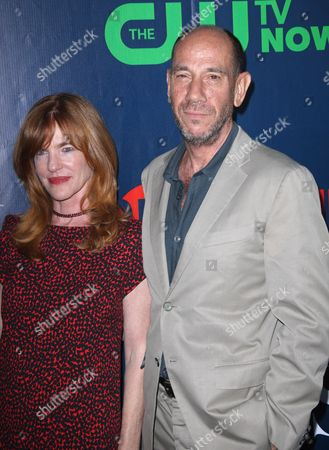 Stock Image of Miguel Ferrer and Lori Weintraub
