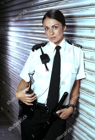 JAN ANDERSON IN HER ROLE AS A POLICEWOMAN IN THE HTV DRAMA 'NUTS AND BOLTS'