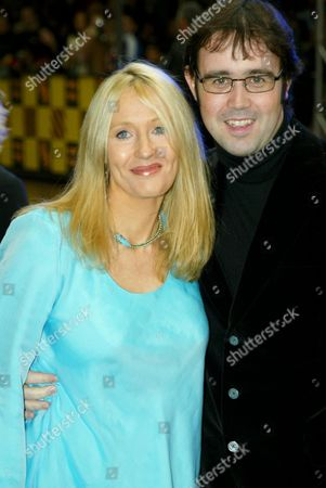 Stock Picture of J K Rowling with Husband Dr Neil Murray