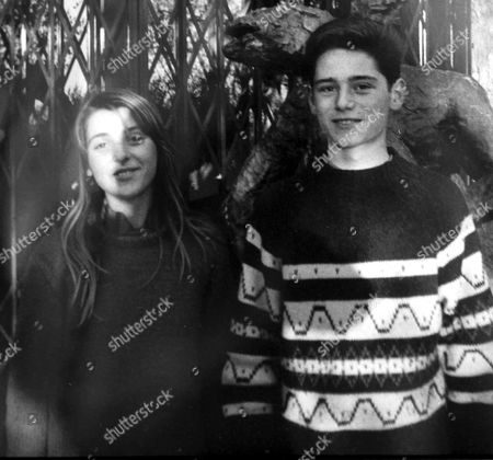 MARINA PICASSO WITH HER BROTHER PABLITO