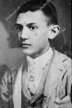 PABLO PICASSO AT FOURTEEN YEARS OLD