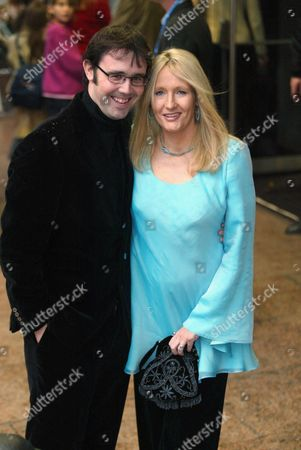 J K ROWLING WITH HUSBAND DR NEIL MURRAY