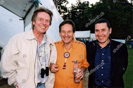 Editorial image of Lonnie Donegan performing at the Guildford Festival, Britain - 2002