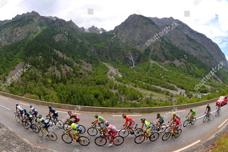 Editorial photo of Tour de France cycling race, France - 19 July 2014