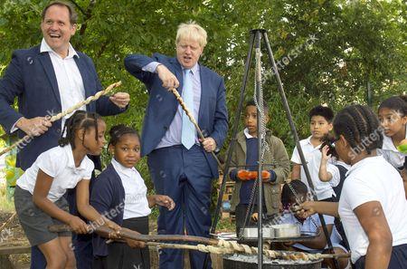 Henry Dimbleby and Mayor Boris Johnson