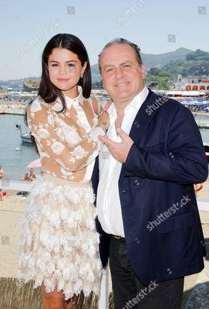 Selena Gomez and Pascal Vicedomini