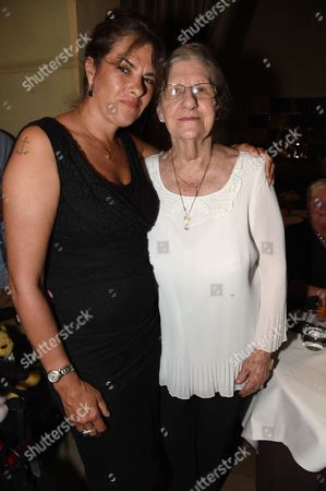 Stock Picture of Tracey Emin and Pamela Cashin