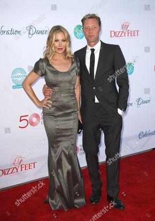 Christina Applegate and husband Martyn LeNoble