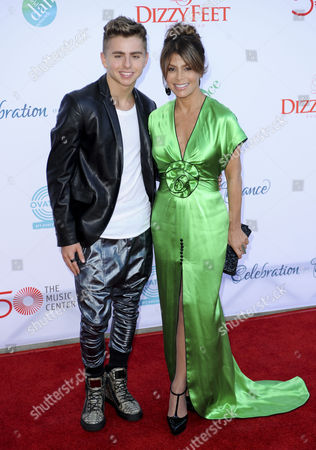 Paula Abdul and Michael Dameski