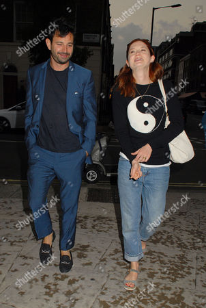 Editorial image of Bonnie Wright out and about at Il Baretto Wine Bar and Restaurant, London, Britain - 20 Jul 2014