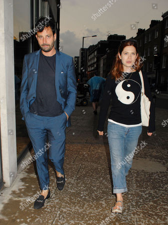 Stock Image of Bonnie Wright and boyfriend Simon Hammerstein