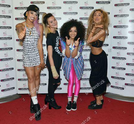 Neon Jungle - Shereen Cutkelvin, Amira McCarthy, Jess Plummer, and Asami Zdrenka