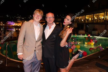 Stock Photo of Virginie Marsan, James Haggis and Paul Haggis