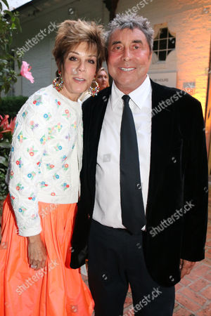 Stock Photo of Peggy Siegal, Sandy Gallin