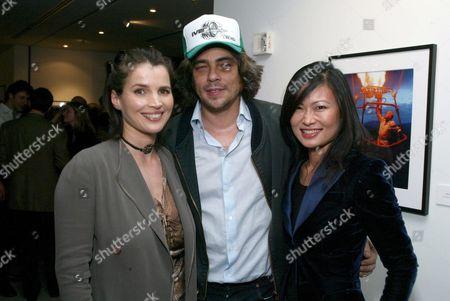 Julia Ormond, Benicio Del Toro and SunHee Grinnell