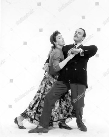 Stock Photo of JOYCE GRENFELL AND TERRY THOMAS