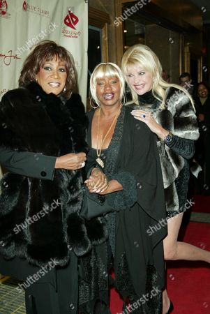 Patti La Belle, Janice Combs and Ivana Trump