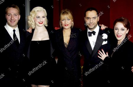 THE CAST WITH GABY ROSLIN AND MICHAEL GRECO