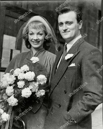 Patric Doonan Son Of Comedian George Doonan And Ballet Dancer Aud Johansen On Their Wedding Day In 1958.