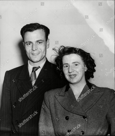 Editorial picture of Philip Northam Who Was The Principal Witness In The Cameo Cinema Murder Case In Liverpool In 1950 Was Married At Birkenhead Registry Office To Mary Mccabe.