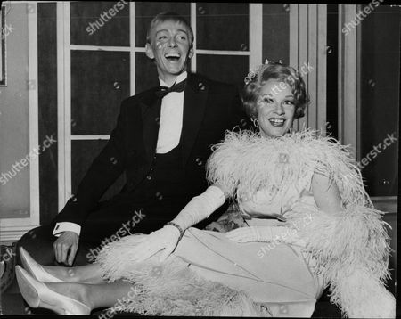 Stock Photo of Sheila Mathews And Roy Francis Who Star In The Musical Charlie Girl.