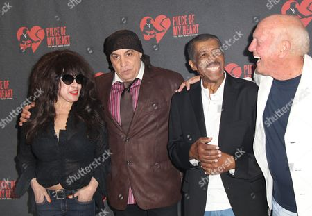Ronnie Spector, Steven Van Zandt, Ben E King and Mike Stoller