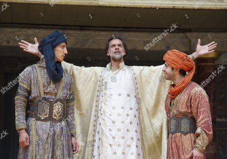 Jonathan Bonnici as Al-Afdal, Alexander Siddig as Saladin, Satya Bhabha as Az-Zahir