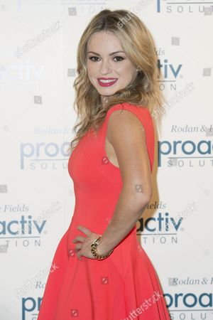 Editorial photo of Ola Jordan revealed as the new face of Rodan and Fields Proactiv Solution, London, Britain - 22 Jul 2014