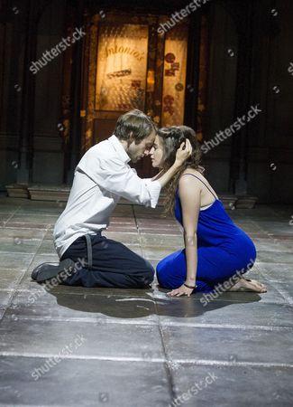 Mark Arends as Proteus, Pearl Chanda as Julia