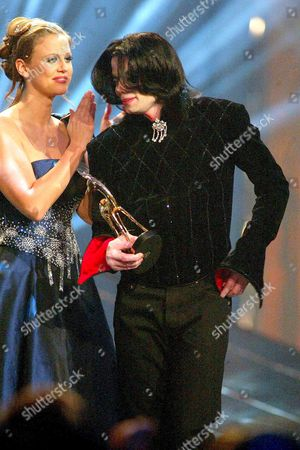 Barbara Schoneberger and Michael Jackson
