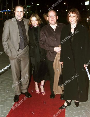 Stock Photo of (L-R) GREG HEMPHILL WITH FORD KIERNAN AND THEIR WIVES