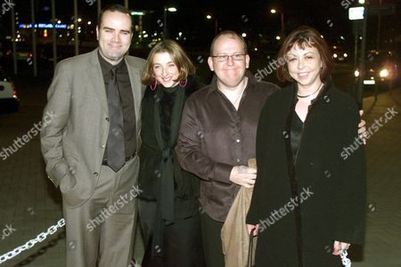 Stock Image of (L-R) GREG HEMPHILL WITH FORD KIERNAN AND THEIR WIVES