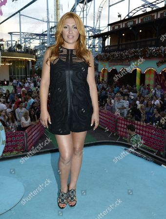 Editorial picture of Helena Paparizou in Stockholm, Sweden - 19 Jul 2014