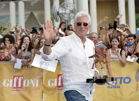 Stock Picture of Richard Gere receives the Francois Truffaut Award 2014