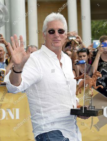 Richard Gere receives the Francois Truffaut Award 2014