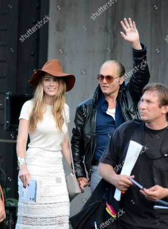 Amanda Heard and Johnny Depp