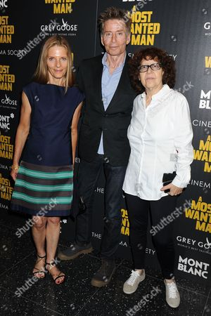 Sandra Brant, Calvin Klein and Ingrid Sischy