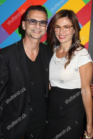 Dave Gahan and wife Jennifer Sklias