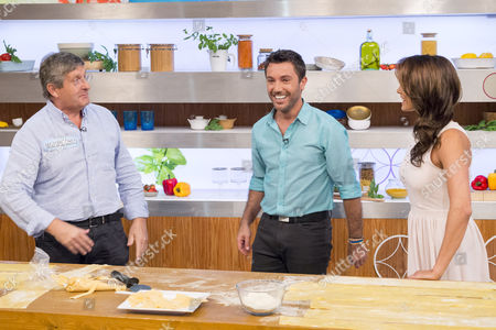 Editorial photo of 'Lets Do Lunch with Gino and Mel' TV Programme, London, Britain - 23 Jul 2014