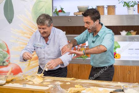 Giancarlo Caldesi and Gino D'Acampo