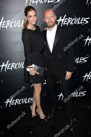 Stock Photo of Barbara Palvin and Aksel Hennie