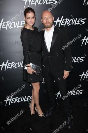 Barbara Palvin and Aksel Hennie