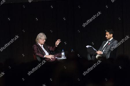 Sir Bob Geldof is interviewed by Waleed Aly