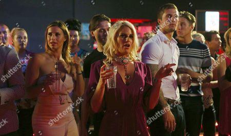 Editorial photo of 'The Only Way is Essex' TV Series filming, Evoke nightclub, Chelmsford, Essex, Britain - 23 Jul 2014