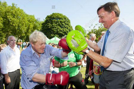 Editorial image of Coca-Cola Zero Parklives launch in Newham, London, Britain - 24 Jul 2014