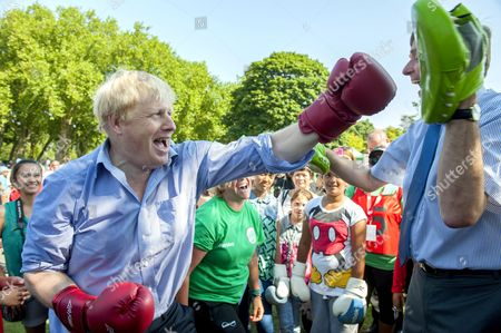 Editorial photo of Coca-Cola Zero Parklives launch in Newham, London, Britain - 24 Jul 2014