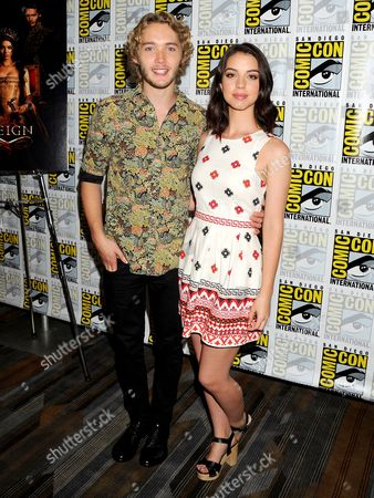 Toby Regbo and Adelaide Kane