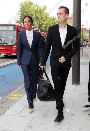 Tulisa Contostavlos and Gareth Varey